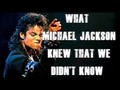 What Michael Jackson Knew That We Didn't Know ✪ Blow Your Mind ✪