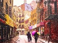 snow, new york city, doyers street #artistsIfancy