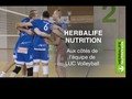 Herbalife Nutrition aux côtés du LUC Volleyball