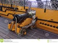A cannon on deck of HMS Victory in Portsmouth, England. #admiral #Portsmouth #photograph #Dreamstime #photography