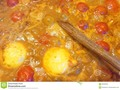 A healthily bubbling pan of lentil casserole, #brown #bubbling #casserole #Dreamstime #photography