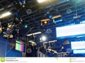 Rigging and lights as seen in a television studio or theatre. #bbc #broadcasting #cameras #Dreamstime #photography