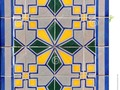 Vintage coloured wall tiles showing Moorish influence. #photography #250pxrtg #pattern #background #blue #coloured