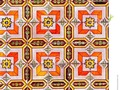 Vintage coloured wall tiles, showing Moorish influence #250pxrtg #photography #pattern #Dreamstime #photography