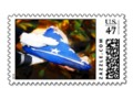 Thank You for Your Service Postage Stamp #CustomsPostage -