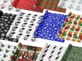 Cute, Colorful and Festive Decorating and Wrapping Paper. Get ready to wrap up your holiday gifts with custom w...