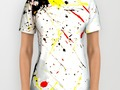 Paint #Splatter All Over Print Shirt by #Gravityx9 #Society6