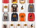 Thanksgiving fun at #Society6! Tee shirts to customize style, color and size for the right fit! t #Gravityx9 -…
