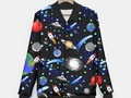 Galaxy Universe Baseball Jacket at #LiveHeroes #Gravityx9