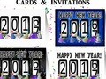 Celebrate the New Year ~ 2016-17 Odometer Cards, Invitations and more! #NewYearsCelebration at #Zazzle -