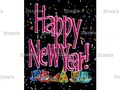 Select the color text image you prefer! HAPPY NEW YEAR! CHOICES CARD #newyearscelebration #gravityx9 -…