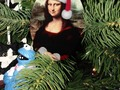Celebrate the Christmas Season with a Mona Lisa Christmas Ornament available at SpoofingTheArts Store Zazzle!…