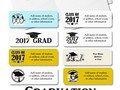 #Just4Grad at #Zazzle for the #ClassOf2017 ~ Add your text & color to these Return Address and Wrap Around Labels -…