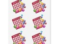 BINGO Card with BINGO Balls Temporary Tattoos - Comes off after a few days or wipe clean with baby oil!…
