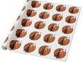 Slam Dunk Basketball Player Wrapping Paper by #Gravityx9 at Zazzle for Gifts,DIY Crafting or Decorating -…