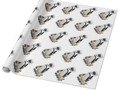 Little Penguin Wearing Hockey Gear Wrapping Paper by #Gravityx9 at Zazzle for Gifts,DIY Crafting or Decorating -…