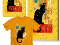 Chat Noir New Years Party Countdown - Happy New Year from Le Chat Noir! #Gravityx9 #SpoofingTheArts at #Pixels -…