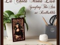 La Chola Mona Lisa Art Board ~ NEW at Redbubble - Mona is Stylin' her hat and tats! This design is available on pri…