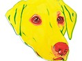 """Yellow Labrador "" by RaLiz 