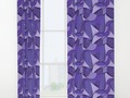 Ultra Violet Abstract Waves Window Curtains by #Gravityx9 at #Society6 ~ Find this design on #homedecor,…