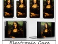 Caravaggio's Mona Lisa Electronic Care by #Gravityx9 Designs #SpoofingTheArts at Society6 - Mona Medusa is also ava…