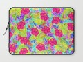 *Hawaiian Pink Flowers Laptop Sleeve* by #Gravityx9 at #Society6 ~ Find this design on #homedecor, #wallDecor,…