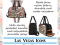 #LasVegasicons - Gamblers Delight Weekender Travel Bag with Sturdy portable handle and adjustable shoulder strap. A…