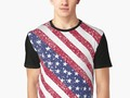 """ American Flag Distressed"" T-shirt by Gravityx9 
