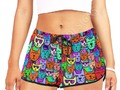 * Rainbow Cats Women's All Over Print Relaxed Shorts by #Gravityx9 at Artsadd * short shor…