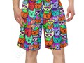 * Rainbow Cats Men's Swim Trunk by #Gravityx9 at Artsadd * mens swimshorts * swimming trun…