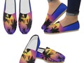 #CuteShoes for #SummerVacation * #Tropical Sunset Palm Trees #SlipOn Shoes by #Gravityx9 at #Artsadd * Lovely Tropi…