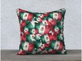 "* Grunge-Style Mexican Flag,18"" x 18"" Pillow Case by #Gravityx9 