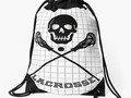 📷  * * #Sports4you * Skull and Lacrosse Sticks  Drawstring...
