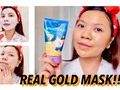 Me ha gustado un vídeo de YouTube ( - REAL 24K GOLD MASK!! First Impressions Elizavecca Kangsi Pack + Retinol