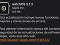 watchOS 5.1.2 ya está disponible: llega el electrocardiograma (ECG) al Apple Watch Series 4 en EEUU…