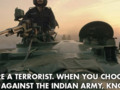 An Indian Army Major's Open Letter to a Dead Terrorist: