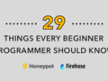 Do you agree with these 29 things every beginner developer should know?: