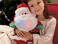 HAPPY LIVING: Beautiful Santa Plush Toys For Christmas