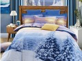 HAPPY LIVING: BEAUTIFUL SNOW BEDDING SETS FOR CHRISTMAS