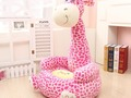 HAPPY LIVING: Super Cute Plush Toy Bean Bag Chair Seat for Child...