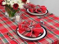 HAPPY LIVING: DECORATE YOUR DINING TABLE WITH BEAUTIFUL CHRISTMA...