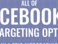 All of Facebook's Ad Targeting Options (in One Epic Infographic)