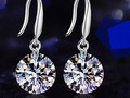 .925 Swarovski Crystal Drop Earrings