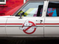 Take a spooky spin in the new Ecto-1 from 'Ghostbusters' - Roadshow: Go for a ride in the new Ecto-1 Cadi...