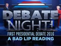 Just can't stop laughing (A Bad Lip Reading of the first 2016 Presidential Debate)