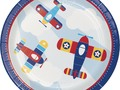 Check out Lil' Flyer Airplane Tableware (Plates Napkins Cups Table Covers) (SERVES 16) #Amscan via eBay