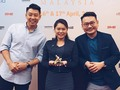 Gold for #MalaysiaAirlines #RayaAroundtheWorld campaign at the APPIES 2018 🏆