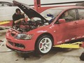 Red Evo8 rs Build... Tuned... Custom frabication... By #andresmakevin  @andresmakevin #teammakevin @kingsperformancerace #kingsperformancerace 787awhp pump gas and methanol kit.... #pty #pty507  #panamagram Panama 2013...