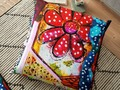 'Polkadot Daisy' Floor Pillow by mimulux