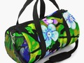 'Forget Me Not' Duffle Bag by mimulux